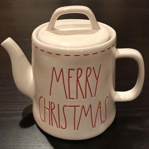 Rae Dunn Christmas Teapot